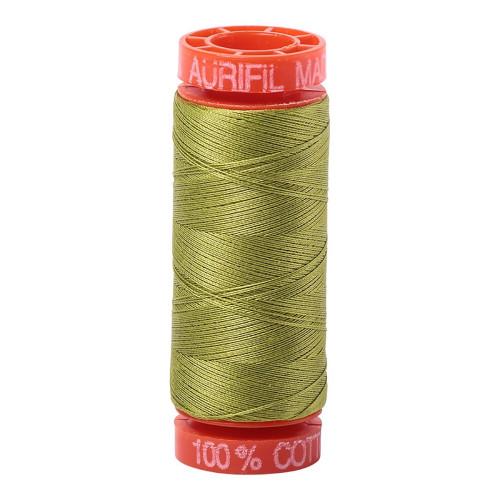 Mako Cotton 50wt 200m - 1147 (Light Leaf Green)