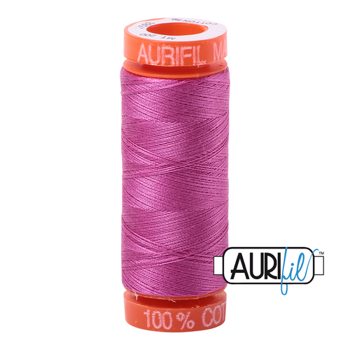 Mako Cotton 50wt 200m - 2588 (Light Magenta)