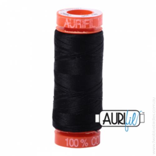 Mako Cotton 50wt 200m - 2692 (Black)