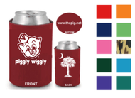 Collapsible Koozie - Pig/Palm Tree -  PW2PPCK