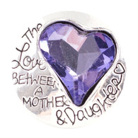 MOM & DAUGHTER LOVE - AMETHYST