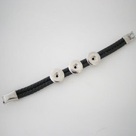 OVATION BLACK BRACELET - 3B