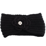 KNIT HEADBAND - BLACK