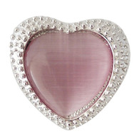 VINTAGE SILVER HEART