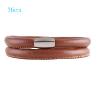 ZILLION CARAMEL DOUBLE LEATHER BRACELET