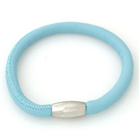 ZILLION BLUE  SINGLE LEATHER BRACELET