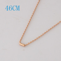 BEAUTIFUL BEADS CHAIN- ROSE GOLD