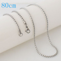 STUNNING ROPE CHAIN- SILVER