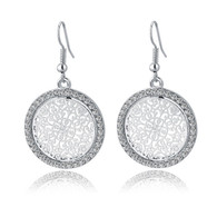 HENNA UNIVERSE EARRINGS - SILVER