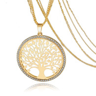 TREE OF LIFE PENDANT  - GOLD