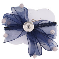 HAIR ACCESSORIES - LAVISH NAVY PAIR