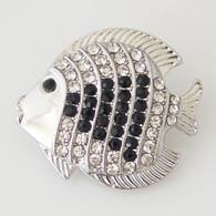 TROPICAL FISH - BLACK & WHITE
