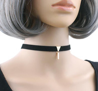 CHOKER - GOLD POWER TRIANGLE