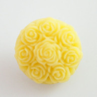 YELLOW BLOOM ROSE- 3D