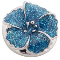 FLOWER - AMAPOLA GLITER BLUE