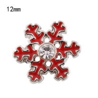 CHRISTMAS - MINI SNOWFLAKES (RED)