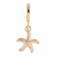 GOLD  SEA STAR  Z-CHARM