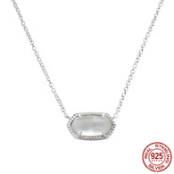 LISS - WHITE MOTHER OF PEARL (NECKLACE)