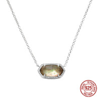 LISS - CHAMPAGNE SHELL (NECKLACE)