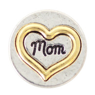 GOLD - MOMS HEART