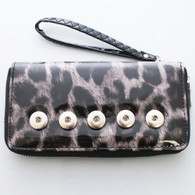 CLOUDED LEOPARD SHINY WALLET
