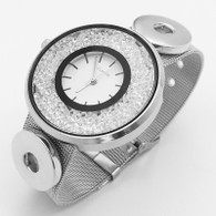 WATCH - CZECH CRYSTALS (SILVER)