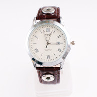 WATCH - LEATHER BROWN (UNISEX)