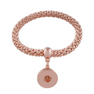 STRETCH MESH BRACELET - ROSE GOLD