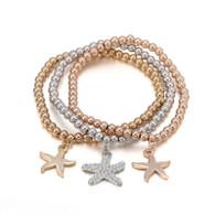 STRETCH BOHO - SEA STARS BRACELET