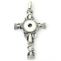 BIG GOTHIC CROSS PENDANT