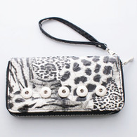WHITE LEOPARD WALLET