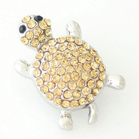 GOLD PAVE TURTLE