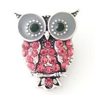 PINK CRYSTAL OWL