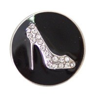 DIAMOND HEEL SHOE (BLACK)
