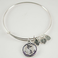 SEA ANCHOR BANGLE