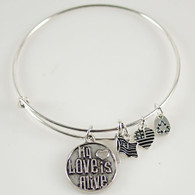 LOVE IS ALIVE BANGLE
