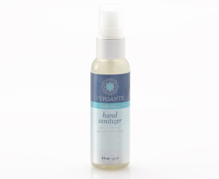 HAND SANITIZER with aloe & essential oil blend