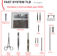 Fast System - Titanium Plates and screws for Bone Regeneration