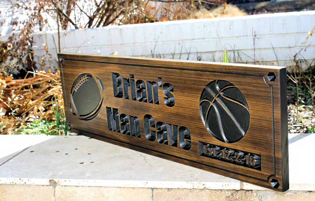Man Cave Signs Sports : Sports sign