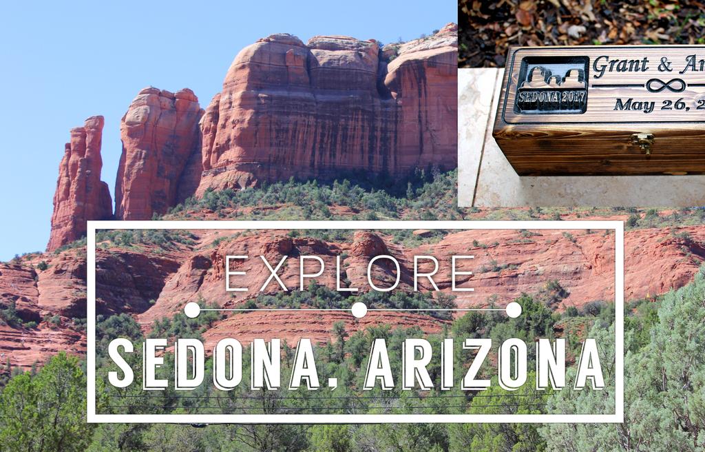 SEDONA, Arizona inspired winebox