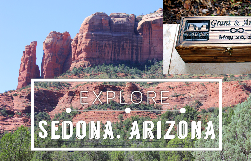 SEDONA, Arizona inspired winebox