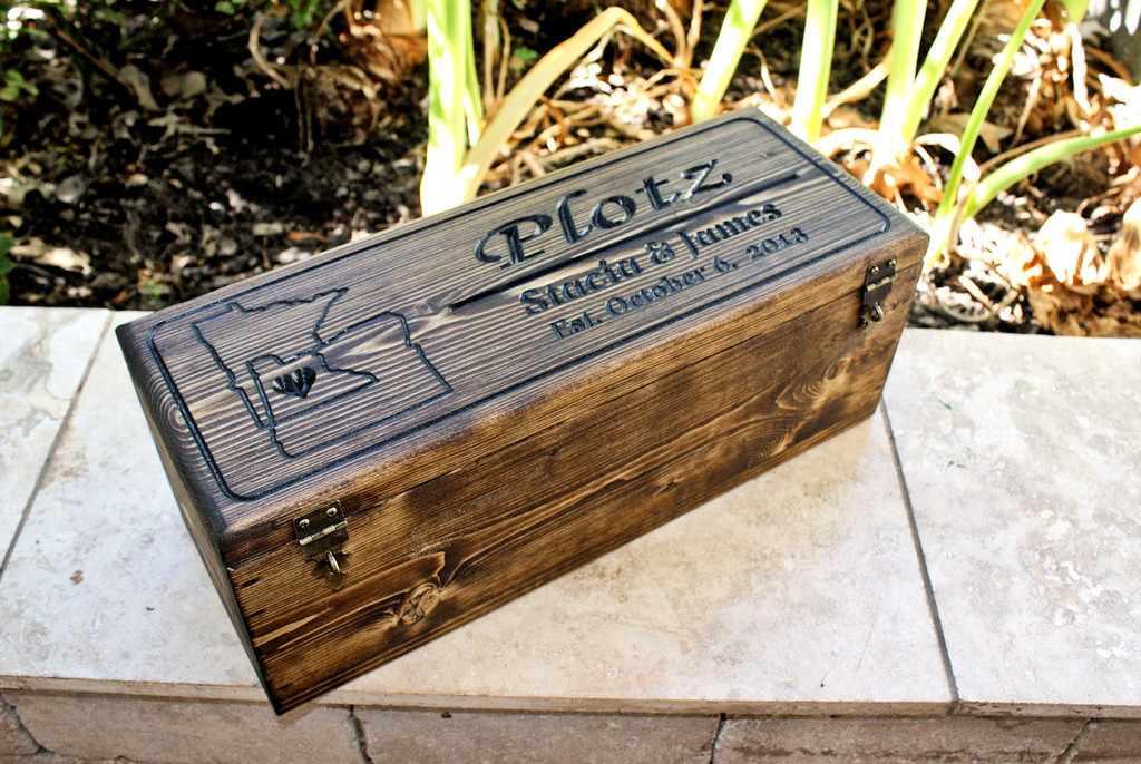 Featured Design: Wine box with 2 states