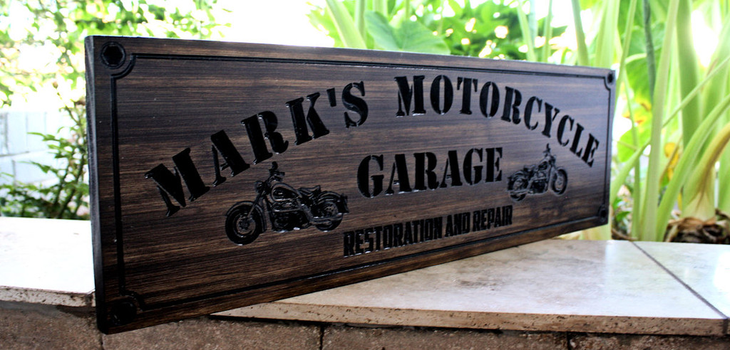 New Design: Motorcycle Sign