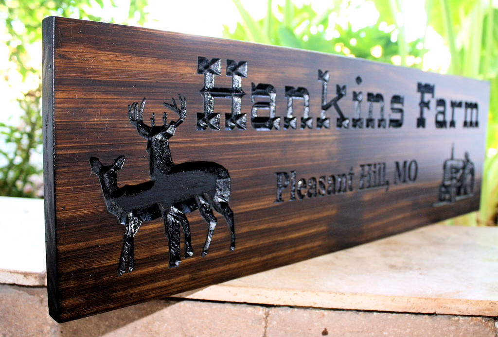 Featured Design: Farm Family Sign