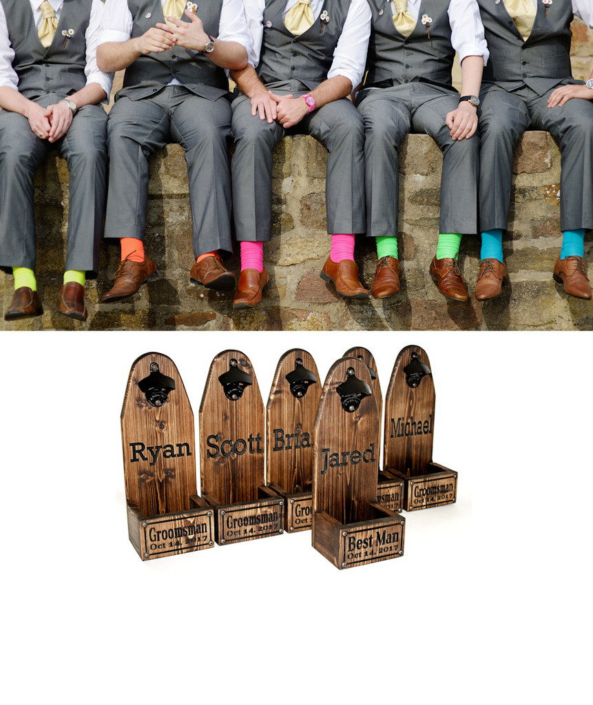 GROOMSMEN GIFT:  Beer Bottle Opener