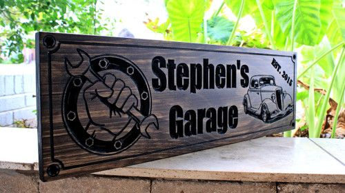 Garage Sign (CWD-330)