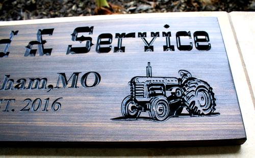 Farm-Ranch Sign (CWD-156)