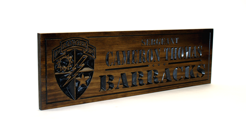 3rd ranger battalion Plaque