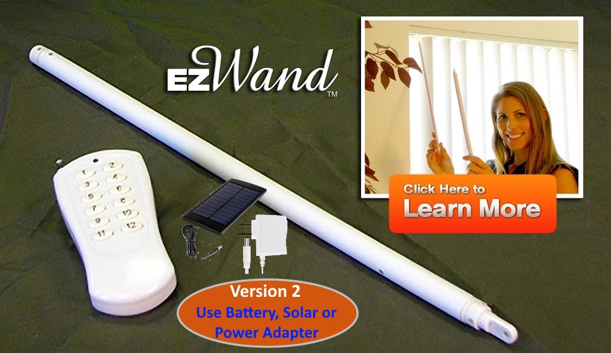 Window Blinds Automation - EzWand Vertical