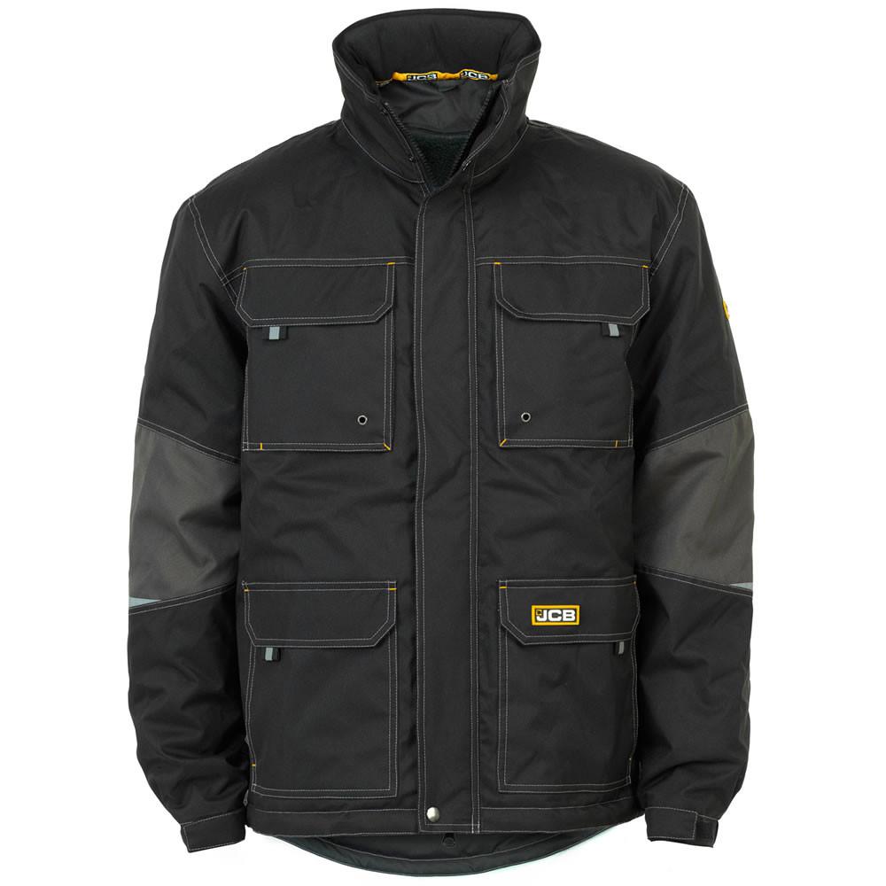 Bamford Windproof & Waterproof Work Jacket in Black